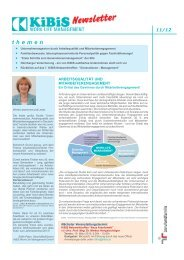 Newsletter 2012-11 (PDF 4850 KB) - KiBiS Work-Life Management ...