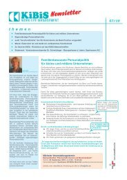 Newsletter 2010-07 (PDF 4823 KB) - KiBiS Work-Life Management ...