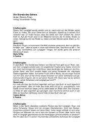 Die Stunde des Sehers von Dennis Foon, Sauerländer Verlag (pdf)