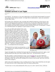 2009-10-16 ESPN.com Page 2 -- Kickball Carnival in Las Vegas