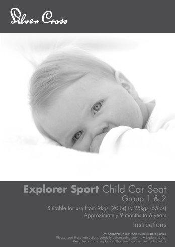 Explorer Sport Child Car Seat - Kiddicare