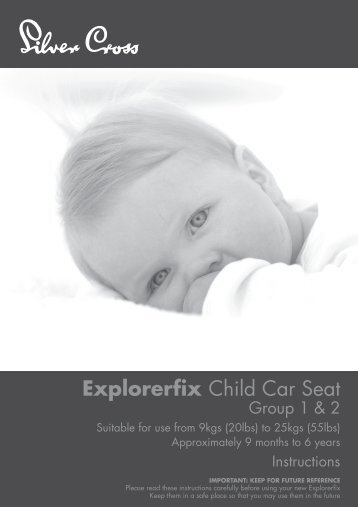 Explorerfix Child Car Seat - Kiddicare