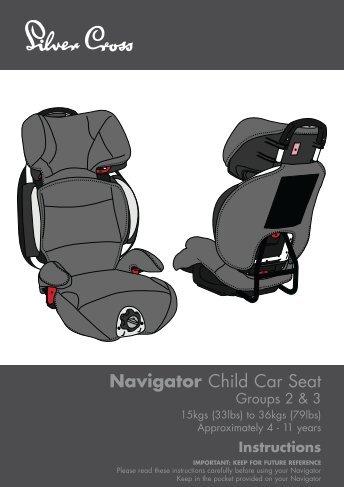 Navigator Child Car Seat - Kiddicare