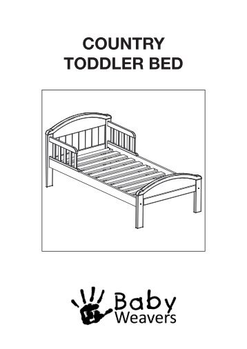 TODDLER BED PARTS