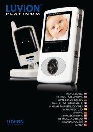 platinum user manual ALL .indd - und Baby-Überwachung