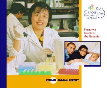 2001/02 Annual Report & Financial Statements - Kids Cancer Care
