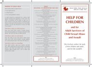 Help for Children DLE revised - Doctors for Sexual Abuse Care