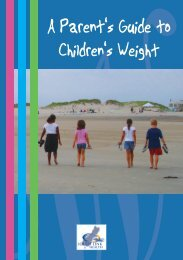 A parent's guide to children's weight - Kidshealth