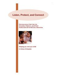 Listen, Protect, and Connect - Cincinnati Children's Hospital Medical ...