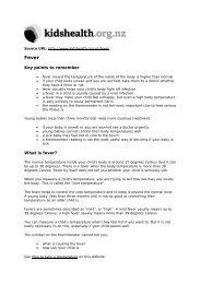 PDF version for printing - Kidshealth