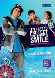 It's easy to protect your family's smile (Ministry of Health) - Kidshealth