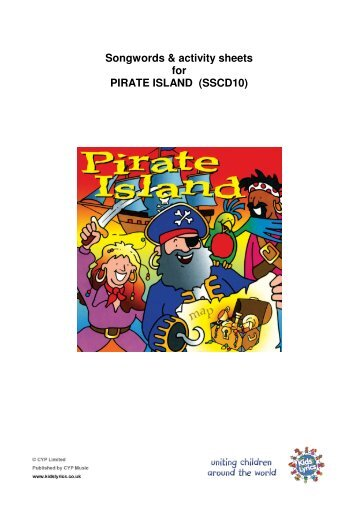 Songwords & activity sheets for PIRATE ISLAND - Download your ...