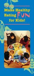 Make Healthy Fun Eating for Kids! - KidsPeace