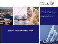 Sozialraumbericht 2011 Gaarden - Landeshauptstadt Kiel