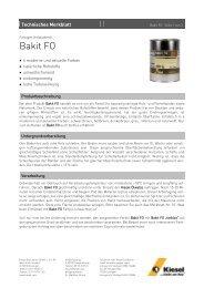 Bakit FO_de.pdf - Kiesel Bauchemie GmbH & Co.KG