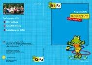 Konzeption - KiFa - Kinder- und Familienbildung