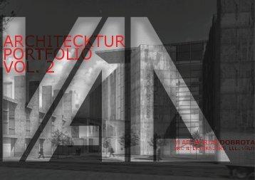 ARCHITECTURE PORTFOLIO by Vlad-Adrian Dobrota