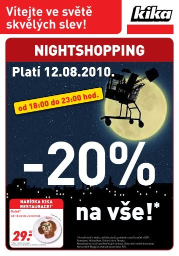 NiGHTSHOPPiNG - Kika