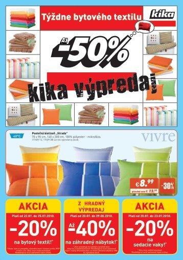 -20% -20% -40% - Kika