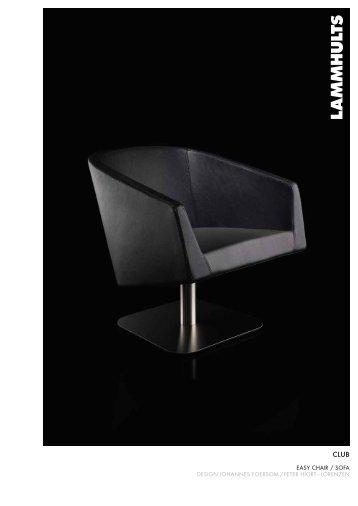 easy chair / sofa design johannes foersom / peter hiort ... - Kilga