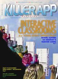 Interactive Classrooms - Killer App Expo