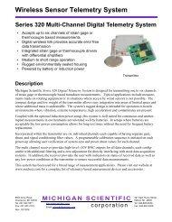 Wireless Sensor Telemetry System