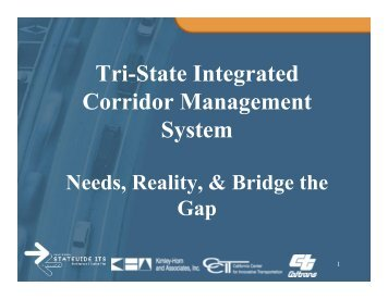 Tri-State Integrated Corridor Management System