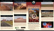 Navajo Nation Scenic Byways Brochure