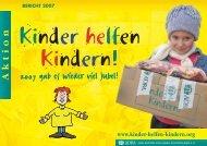 08063 ADRA KHK Danke 2008.indd - Kinder helfen Kindern