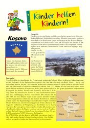 Kosovo - Kinder helfen Kindern