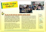 KhK Bericht 07 Moldawien - Kinder helfen Kindern