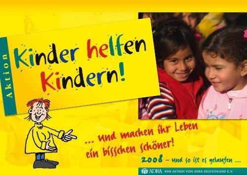 09032 ADRA KHK Danke 2009.indd - Kinder helfen Kindern
