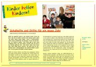 KhK Bericht 07 Tschetschenien - Kinder helfen Kindern