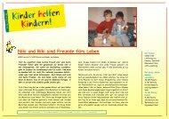 KhK Bericht 07 Kosovo - Kinder helfen Kindern