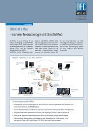 DICOM email - sichere Teleradiologie mit Sectelmed - Dfc-Systems
