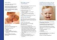 Schütteln Sie Ihr Baby niemals! - Kinder- & Jugendärzte im Netz