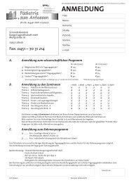 ANMELDUNG - Kinder- & Jugendärzte im Netz