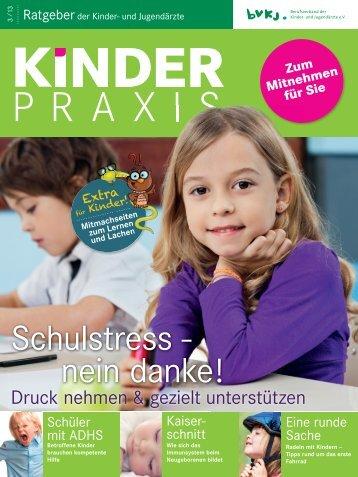 MAGAZIN KinderPraxis 02_13_V14.indd - Kinder- & Jugendärzte im ...
