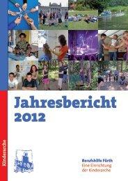 Jahresbericht 2012 - Kinderarche gGmbh