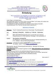 Einladung Seminar 12.05.2012 - Verein Kinder brauchen Eltern