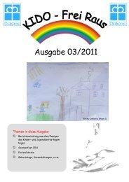 Ausgabe 03/2011 - Kinder- und Jugenddorf Regenbogen e.V.