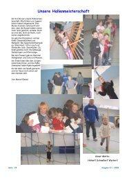 Unsere Hallenmeisterschaft - Kinder- und Jugenddorf Regenbogen ...