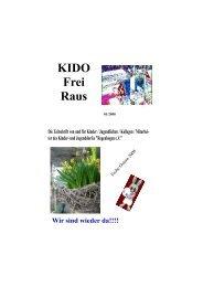 KIDO Frei Raus - Kinder- und Jugenddorf Regenbogen e.V.