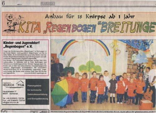 fiir 8 - Kinder- und Jugenddorf Regenbogen e.V.