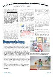 Ein Bericht aus dem Kita Wernshausen