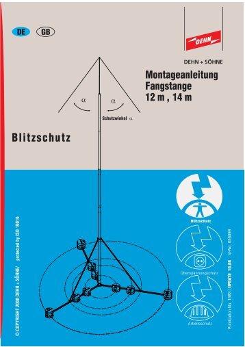 Montageanleitung Fangstange 12 m, 14 m - Dehn + Söhne ...