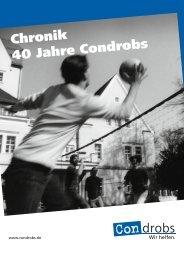 40 Jahre Condrobs - die Chronik - PDF zum ... - Condrobs e.v.