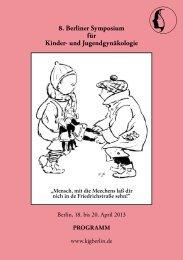 Hauptprogramm - Arbeitsgemeinschaft Kinder