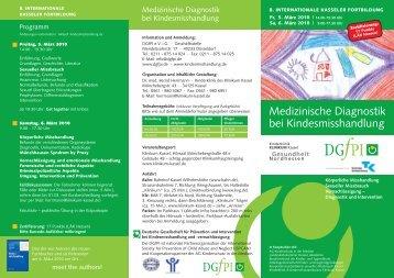 DGfPI_Kasseler Fortbildung - Arbeitsgemeinschaft Kinder