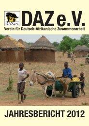 10 Jahre DAZ - Verein für Deutsch-Afrikanische Zusammenarbeit